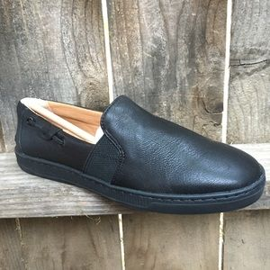 Sperry Top Sider shoes 8 Harbor View Black Leather